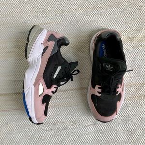 Adidas Originals Falcon in pink and black